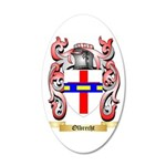 Olbrecht 35x21 Oval Wall Decal