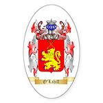 O'Lahiff Sticker (Oval 50 pk)