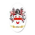 Okey Oval Car Magnet