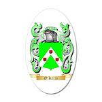 O'Kerin 20x12 Oval Wall Decal
