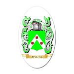 O'Kerin 35x21 Oval Wall Decal