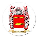 O'Keighron Round Car Magnet