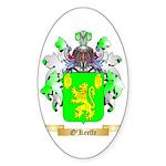 O'Keeffe Sticker (Oval 10 pk)