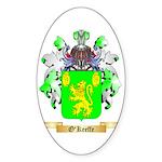 O'Keeffe Sticker (Oval 50 pk)
