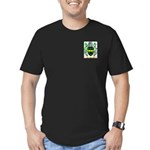 Oke Men's Fitted T-Shirt (dark)