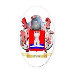 Ojeda Oval Car Magnet
