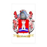Ojeda Sticker (Rectangle 50 pk)