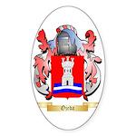 Ojeda Sticker (Oval 10 pk)
