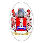 Ojeda Sticker (Oval 50 pk)