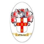 O'Hurley Sticker (Oval 50 pk)