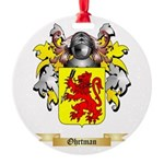 Ohrtman Round Ornament