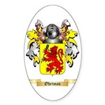 Ohrtman Sticker (Oval)