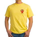 O'Hourihane Yellow T-Shirt