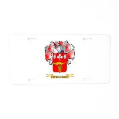 O'Hourihane Aluminum License Plate