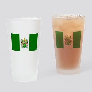Flag of Rhodesia Drinking Glass