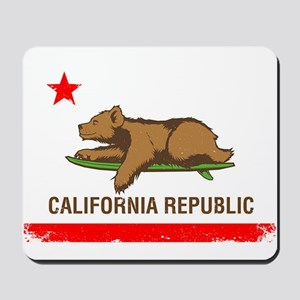 Surfing CA cub Mousepad
