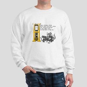 Hickory Dickory Dock Sweatshirt