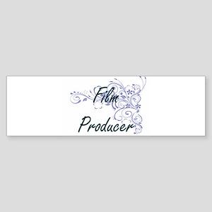 Film Producer Artistic Job Design w Bumper Sticker