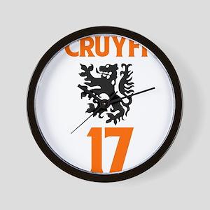 Cruyff 1974 Wall Clock