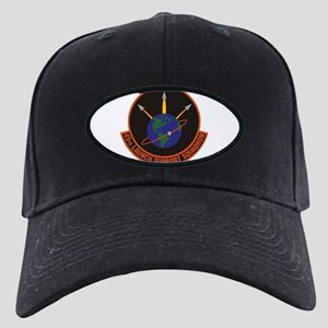 45th Launch Support Sqdrn Crest Black Cap