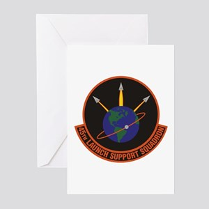 45th Launch Support Sqdr Greeting Cards (Pk of 10)