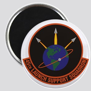 45th Launch Support Sqdrn Crest Magnet Magnets