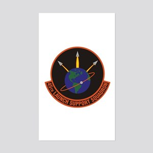 45th Launch Support Sqdrn Cres Sticker (rectangle)