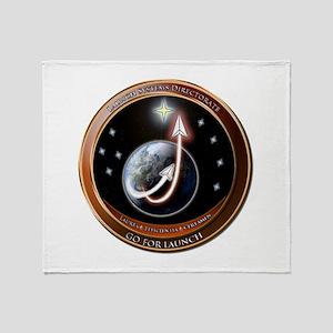 Launch Systems Drt. Logo Throw Blanket