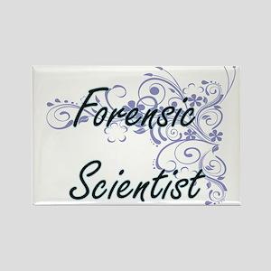 Forensic Scientist Artistic Job Design wit Magnets