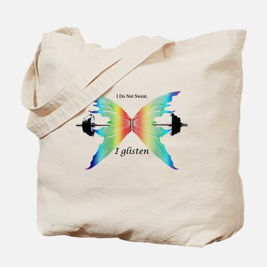 Funny Workout Tote Bag
