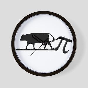 Cow Pie Wall Clock