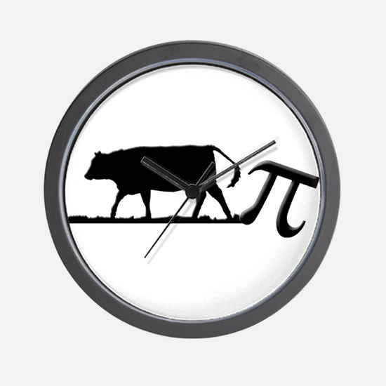 Cow Pie Wall Clock