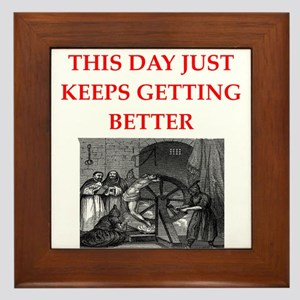 rotten day Framed Tile
