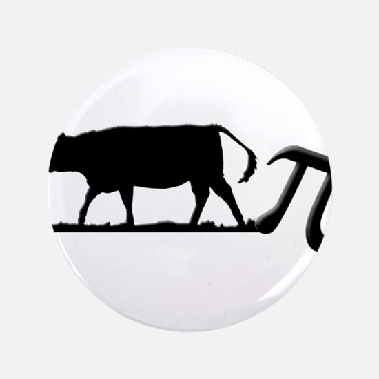 """Cow Pie 3.5"""" Button (100 pack)"""