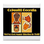 Colquitt Georgia Tile Coaster