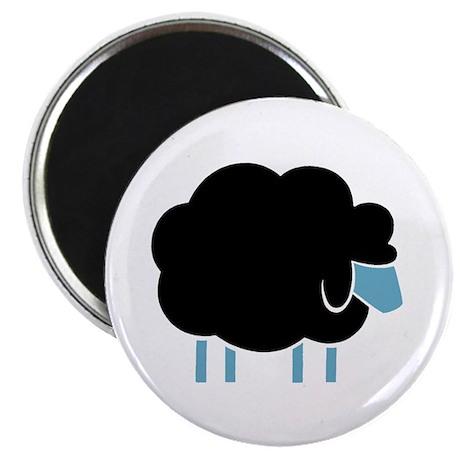 "Skuzzo Black Sheep 2.25"" Magnet (100 pack)"