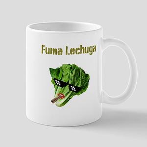 Fuma Lechuga Mugs