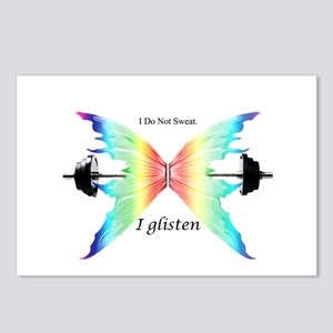 Don't Sweat Glisten Postcards (Package of 8)
