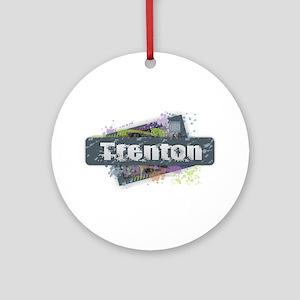 Trenton Design Round Ornament