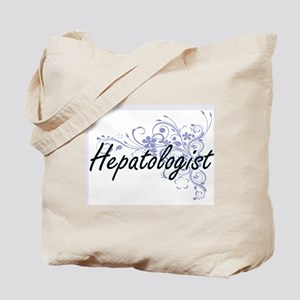 Hepatologist Artistic Job Design with Flo Tote Bag
