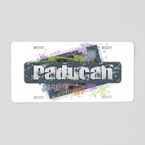 Paducah Design Aluminum License Plate