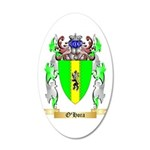 O'Hora 20x12 Oval Wall Decal