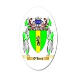 O'Hora 35x21 Oval Wall Decal