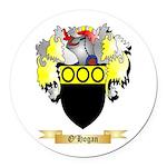 O'Hogan Round Car Magnet
