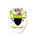 O'Hogan 35x21 Oval Wall Decal
