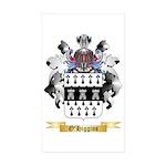 O'Higgins Sticker (Rectangle 50 pk)