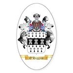 O'Higgins Sticker (Oval 50 pk)