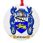 O'Hickey Round Ornament