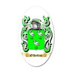 O'Heffron 35x21 Oval Wall Decal