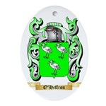 O'Heffron Oval Ornament